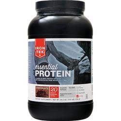 Iron-Tek Essential Natural High Protein (Buy one Get one Free) Chocolate 3.14 lbs