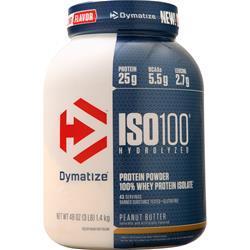 Dymatize Nutrition ISO-100 Peanut Butter 3 lbs