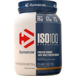 Dymatize Nutrition ISO-100 Peanut Butter 1.6 lbs