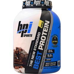BPI Best Protein - Advanced 100% Whey Protein Formula Chocolate Brownie 5.1 lbs