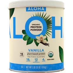 Aloha Organic Protein Powder Vanilla 555 grams