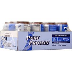 Worldwide Sports Ultra Pure Protein Shake RTD (11 fl.oz.) Frosty Chocolate 12 cans