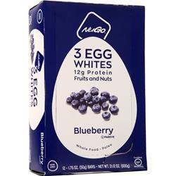 Nugo Nutrition 3 Egg Whites Bar Blueberry 12 bars