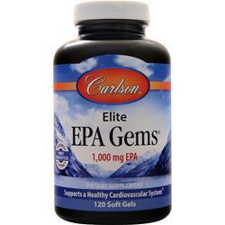 Carlson Elite EPA Gems (1000mg) 120 sgels