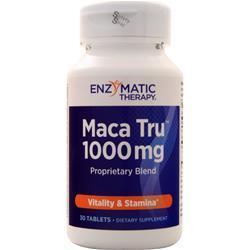 Enzymatic Therapy Maca Tru (1000mg) 30 tabs