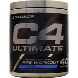 Cellucor C4 Ultimate Pre-Workout Icy Blue Razz 760 grams