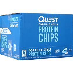 Quest Nutrition Quest Chips Ranch Tortilla Style 8 pckts