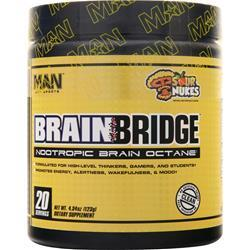 Man Sports Brain Bridge Sour Nukes 123 grams
