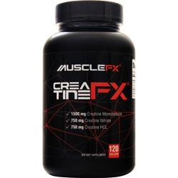 Muscle Fx CreatineFx 120 vcaps