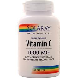 Solaray Vitamin C (1,000mg) 100 tabs