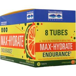 Trace Minerals Research Max-Hydrate Endurance Citrus 8 unit