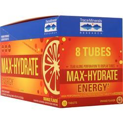 Trace Minerals Research Max-Hydrate Energy Orange 8 unit