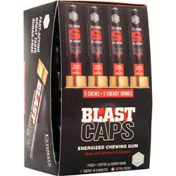 Ultimate Nutrition Blast Caps - Energized Chewing Gum (Buy 1 Get 1 Free) Fresh Mint 10 chews