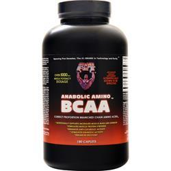 Healthy N Fit Correct Proportion Branched Chain Amino Acids 180 cplts