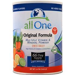 All One Multiple Vitamins & Minerals - Original Unflavored 35.2 oz