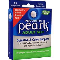 Nature's Way Probiotic Pearls Adult 50+ 30 sgels