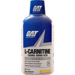 GAT L-Carnitine - Amino Acid Liquid (1500mg) Lemon Blast 16 oz