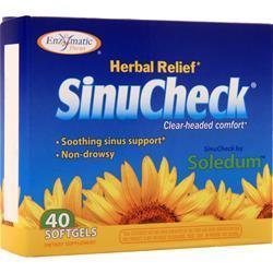 Enzymatic Therapy SinuCheck 40 sgels