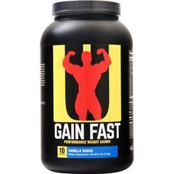 Universal Nutrition Gain Fast Vanilla Shake 5.1 lbs