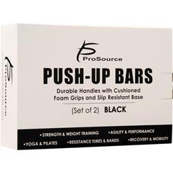 Pro Source Push-Up Bars Black 2 bars