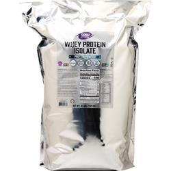 Now Whey Protein Isolate Unflavored 10 lbs