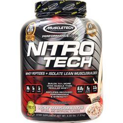 Muscletech Nitro Tech - Performance Series Lucky Marshmallow 4 lbs