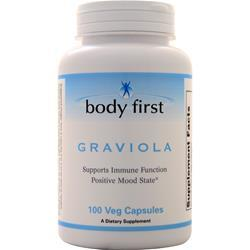 Body First Graviola (500mg) 100 vcaps
