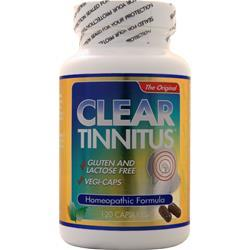 Clear Products Tinnitus - Homeopathic Formula 120 caps