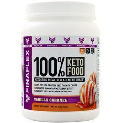 Finaflex 100% Keto Food Vanilla Caramel 420 grams