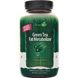 Irwin Naturals Green Tea Fat Metabolizer 150 sgels