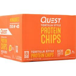 Quest Nutrition Quest Chips Nacho Cheese Tortilla Style 8 pckts