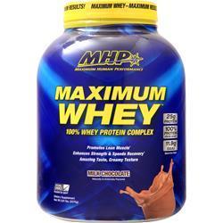 MHP Maximum Whey Milk Chocolate 5.01 lbs