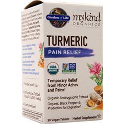 Garden Of Life My Kind Organics - Turmeric 30 tabs
