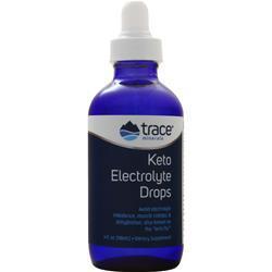 Trace Minerals Research Keto Electrolyte Drops 4 fl.oz