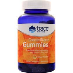 Trace Minerals Research ConcenTrace Gummies Natural Pineapple 90 gummy