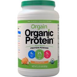 Orgain Organic Protein - Plant Based Powder Peanut Butter 2.03 lbs