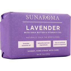 Sunaroma Body Bar Lavender 8 oz