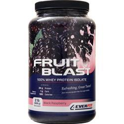 4 Ever Fit Fruit Blast the Isolate Black Raspberry 2 lbs