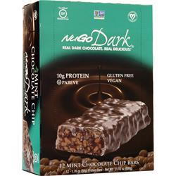 Nugo Nutrition NuGo Dark Bar Mint Chocolate Chip 12 bars