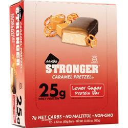 Nugo Nutrition NuGo Stronger Bar Caramel Pretzel 12 bars