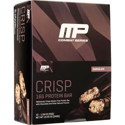 Muscle Pharm Combat Crisp Protein Bar Chocolate 12 bars