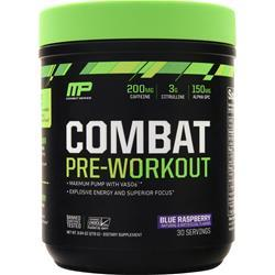 Muscle Pharm Combat Pre-Workout Blue Raspberry 279 grams