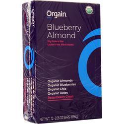 Orgain Protein Bar Blueberry Almond 12 bars