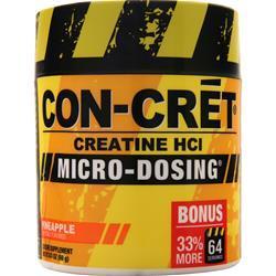 Con-Cret Creatine Micro-Dosing Powder Pineapple 69 grams