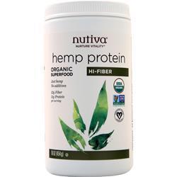 Nutiva Hemp Protein - Organic Superfood (Hi Protein) 16 oz