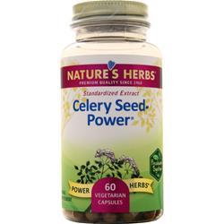Nature's Herbs Celery Seed - Power 60 vcaps