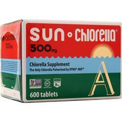 Sun Chlorella Sun Chlorella (500mg) 600 tabs
