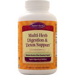 Nature's Secret Multi-Herb Digestion & Detox Support 275 tabs