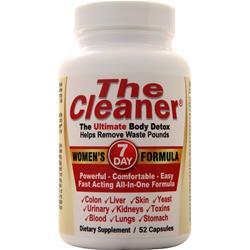 Century Systems The Cleaner - Women's 7 Day Formula 52 caps