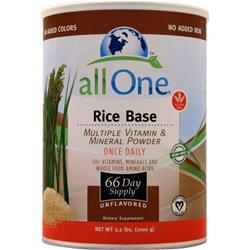 All One Multiple Vitamins & Minerals - Rice Base Unflavored 2.2 lbs